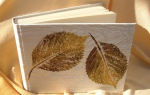 Album fotografico stampa foglie