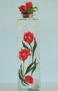 Bottiglia Papaveri